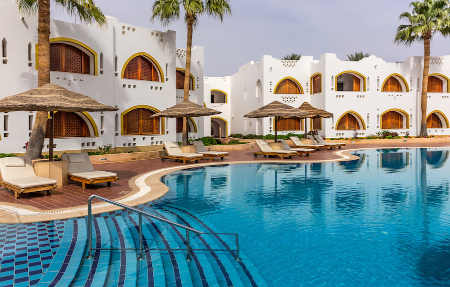 Princely Accommodations in Egypt on a Pauper's Budget
